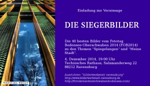 Einladung Vernissage FOB Ausstellung TR Ravensburg