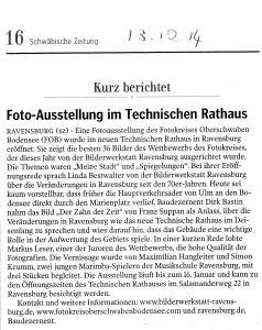 Pressebericht SZ 13.12.14